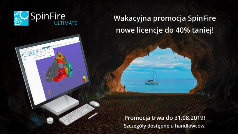Wakacyjna promocja na SpinFire! Do 40% taniej!