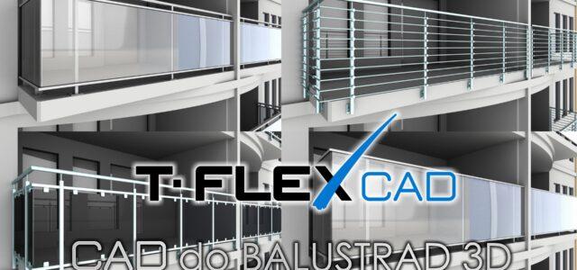 CAD | Projektowanie balustrad