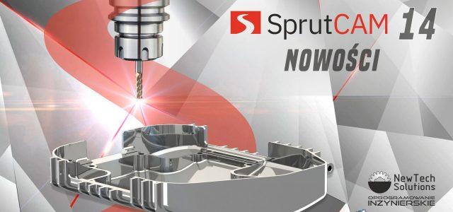 Co nowego w SprutCAM 14?