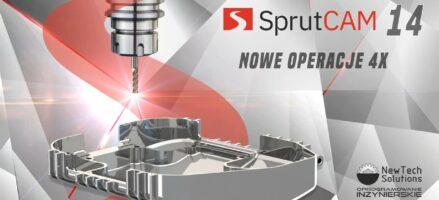 SprutCAM – Operacje 4X