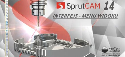SprutCAM – Interfejs i menu