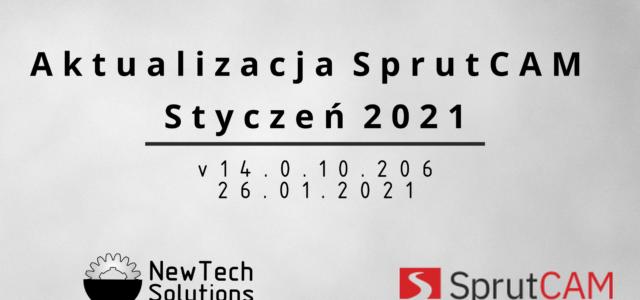 SprutCAM 14 - Aktualizacja Styczeń 2021